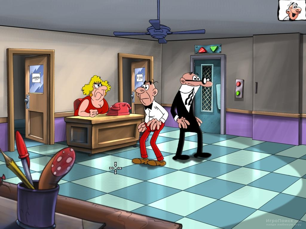Скриншот к игре Mortadelo y Filemon: Operacion Moscu
