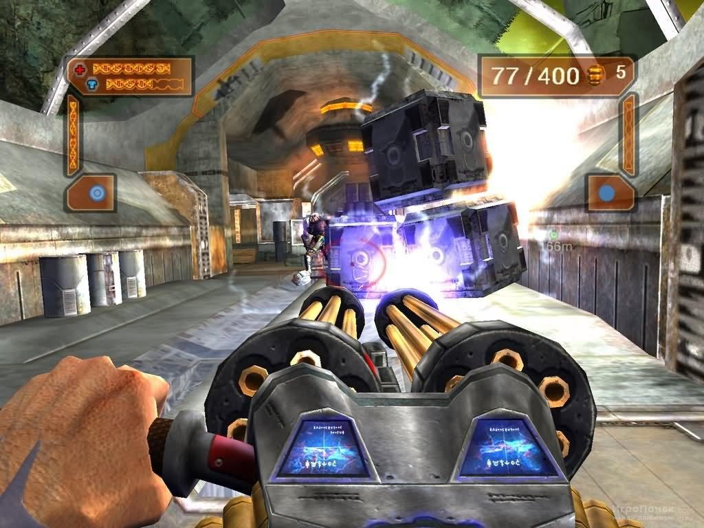 Скриншот к игре Gene Troopers