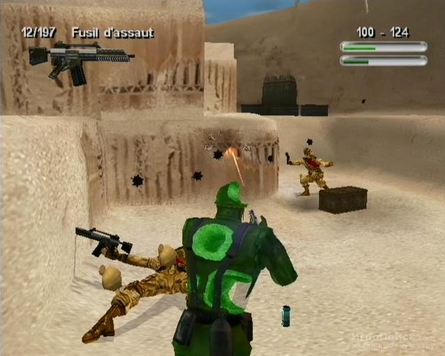 Скриншот к игре Army Men Sarge's War