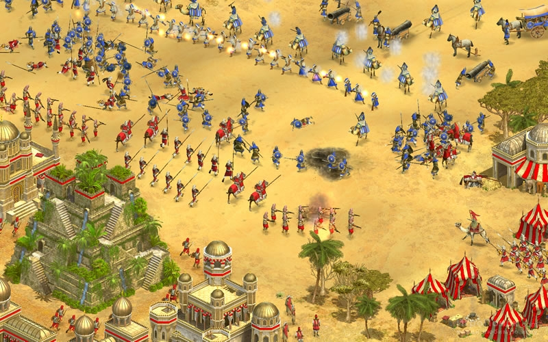 Скриншот к игре Rise of Nations: Thrones and Patriots