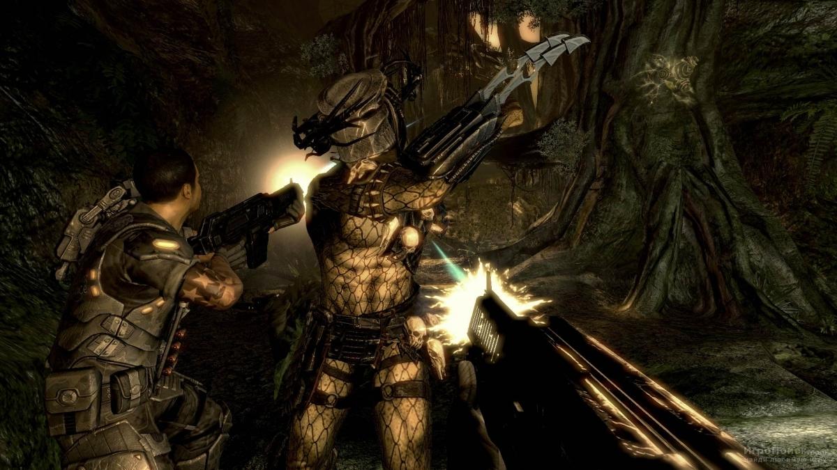 Скриншот к игре Aliens vs Predator 3