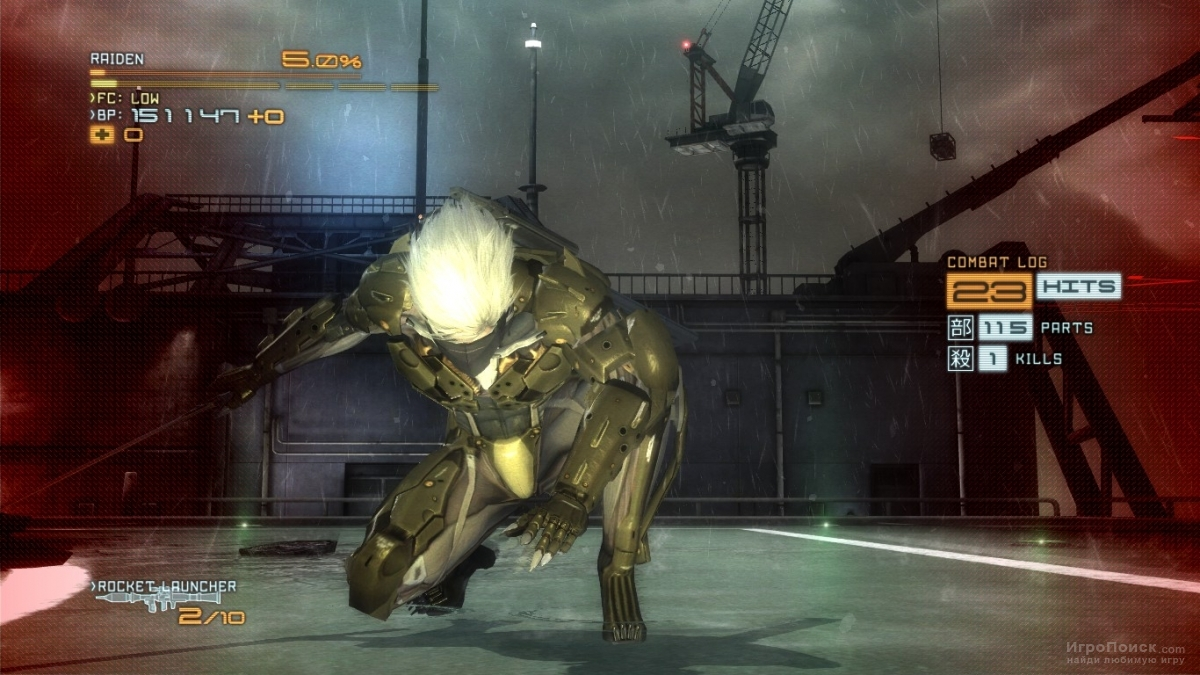 Скриншот к игре Metal Gear Rising: Revengeance