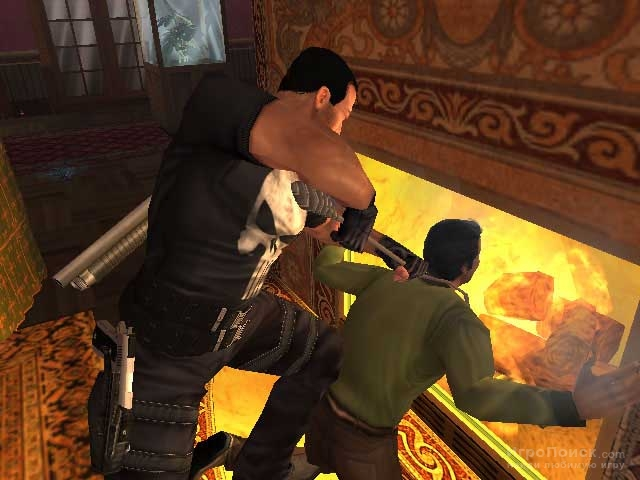 Скриншот к игре The Punisher 2005