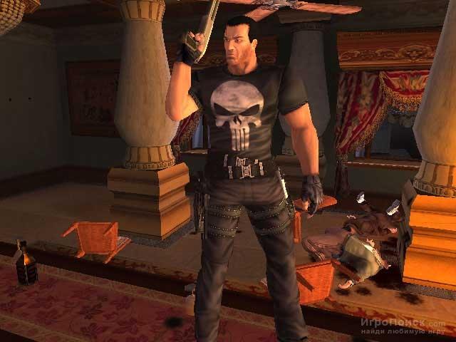 Скриншот к игре The Punisher