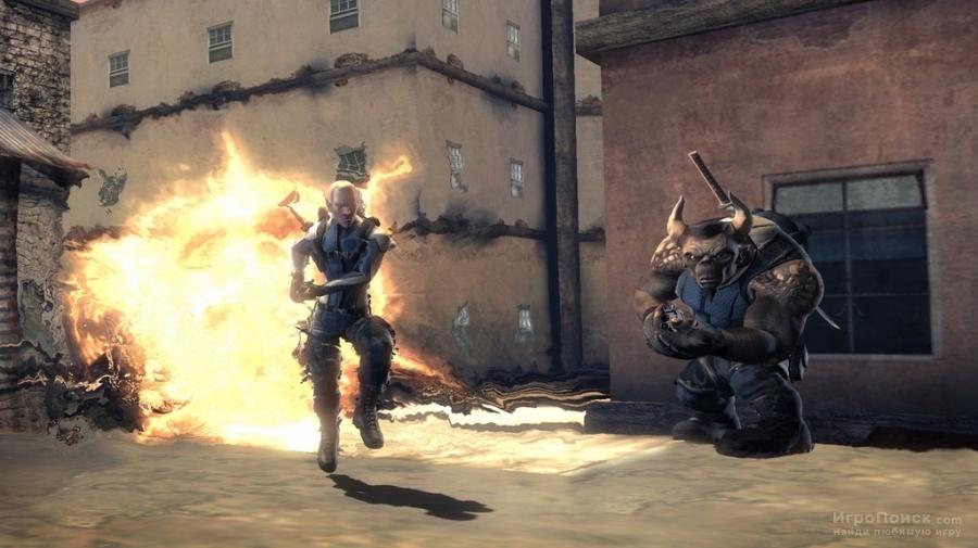 Скриншот к игре Shadowrun