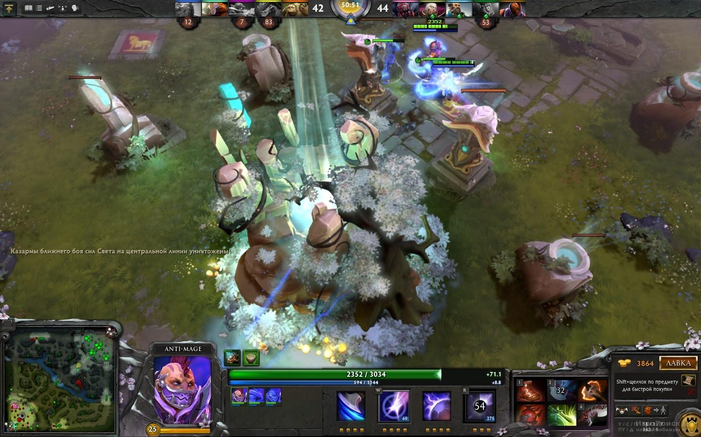 Скриншот к игре DotA 2