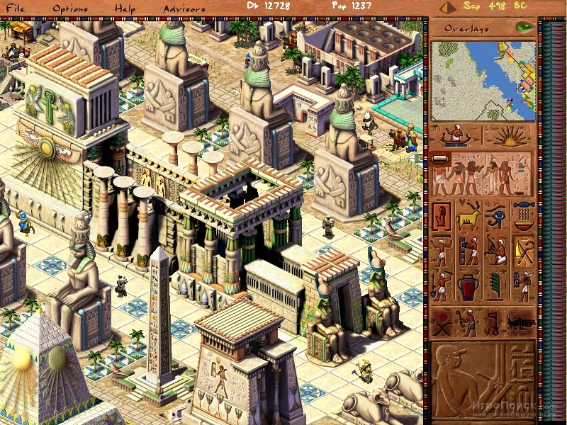 Скриншот к игре Pharaoh