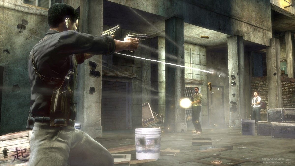 Скриншот к игре Stranglehold