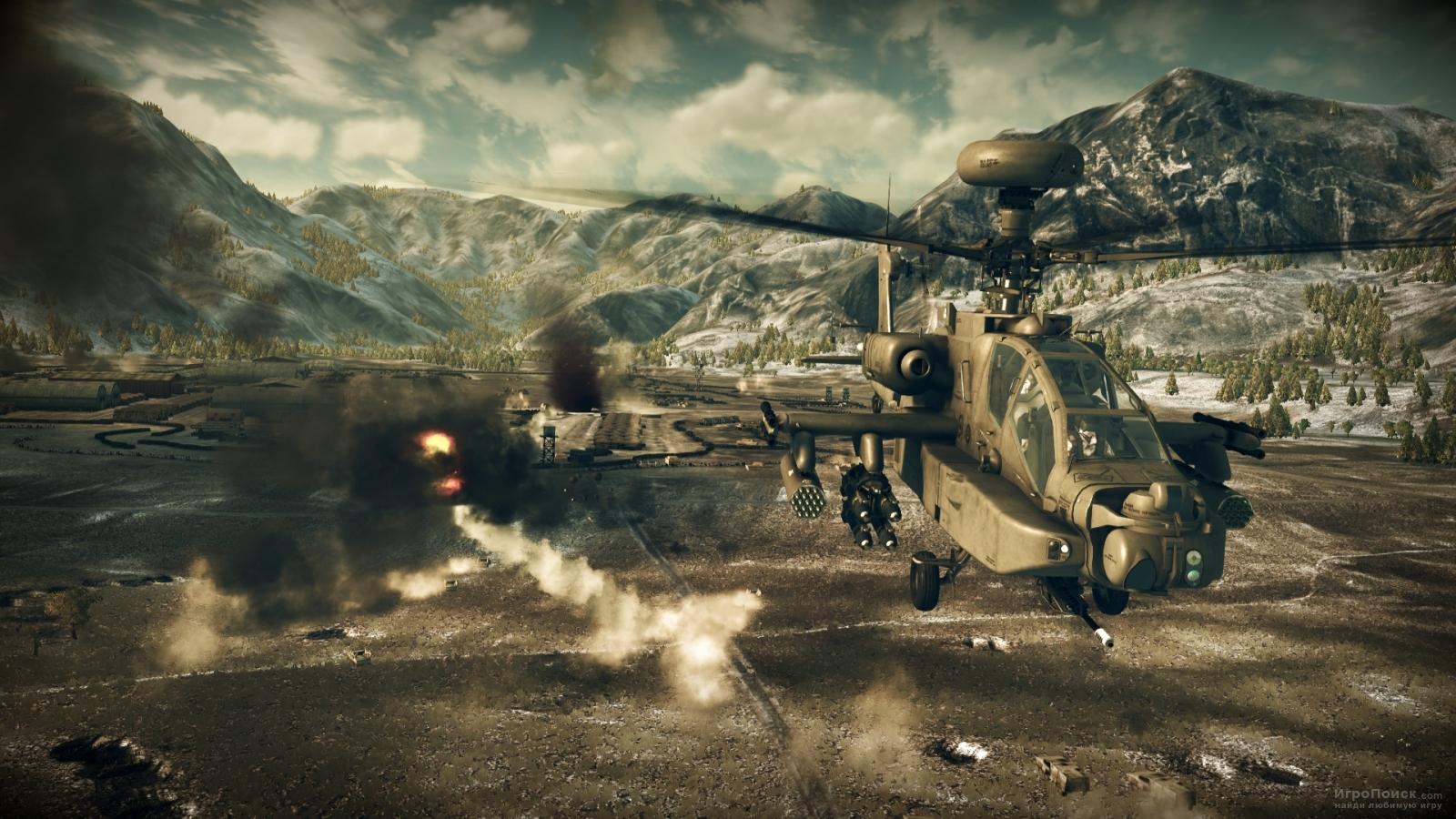 Скриншот к игре Apache: Air Assault