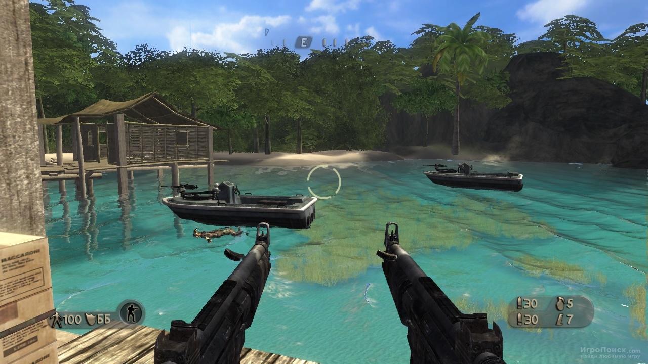 Скриншот к игре Far Cry Instincts: Predator