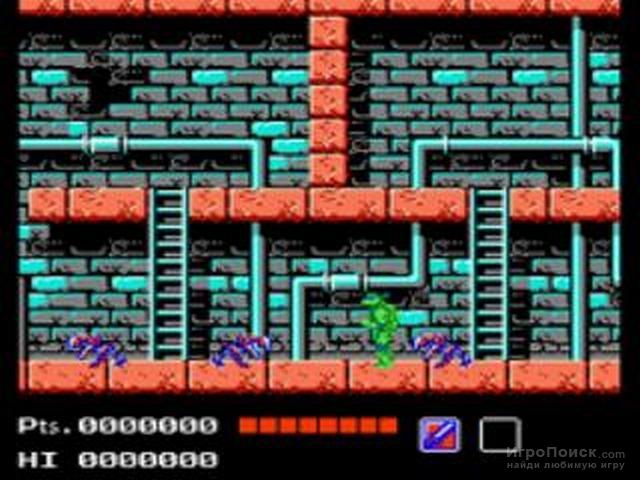 Скриншот к игре Teenage Mutant Ninja Turtles