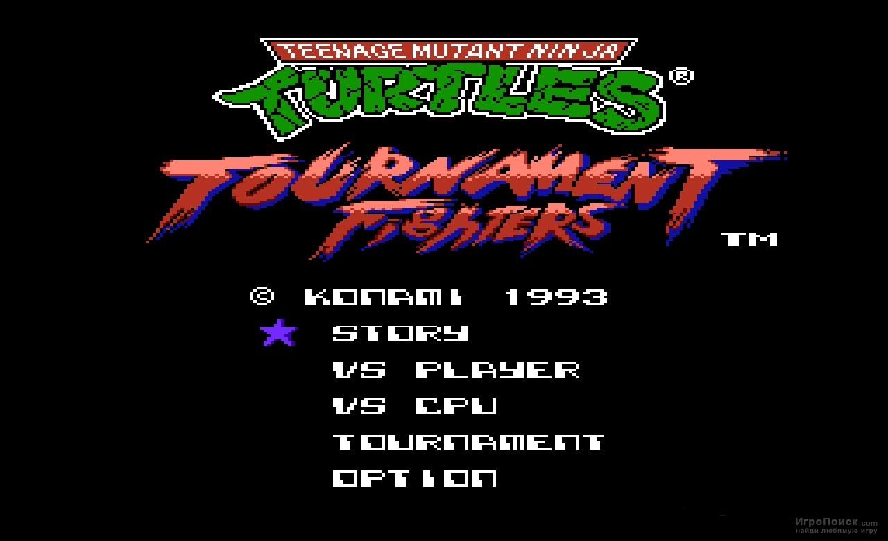 Скриншот к игре Teenage Mutant Ninja Turtles - Tournament Fighters