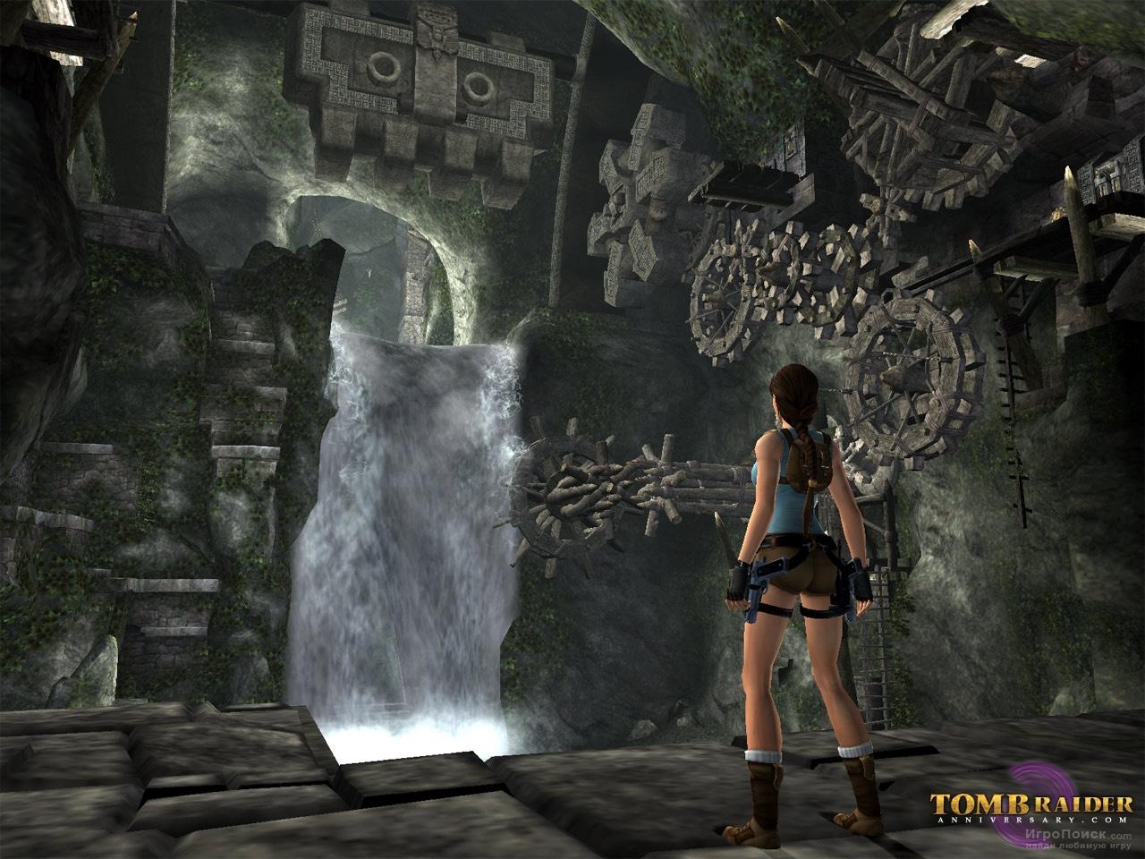 Скриншот к игре Tomb Raider: Anniversary