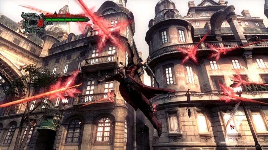 Скриншот к игре Devil May Cry 4