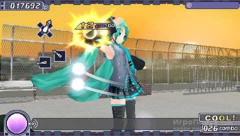 Скриншот к игре Hatsune Miku: Project Diva
