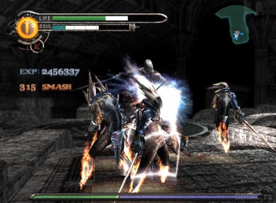 Скриншот к игре Chaos Legion