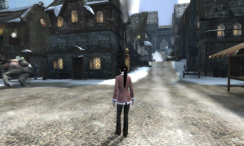 Скриншот к игре Dreamfall: The Longest Journey