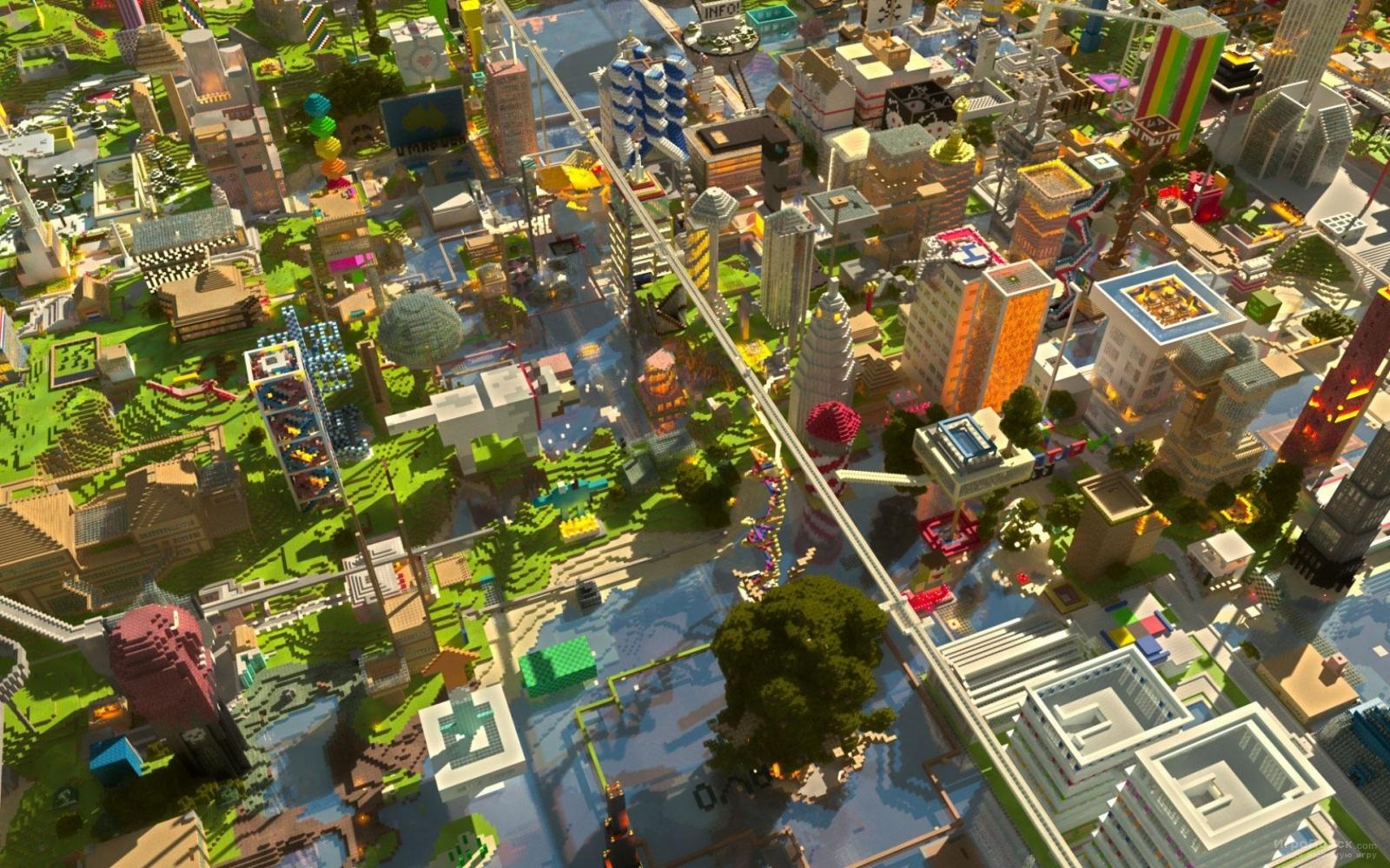 Скриншот к игре Minecraft