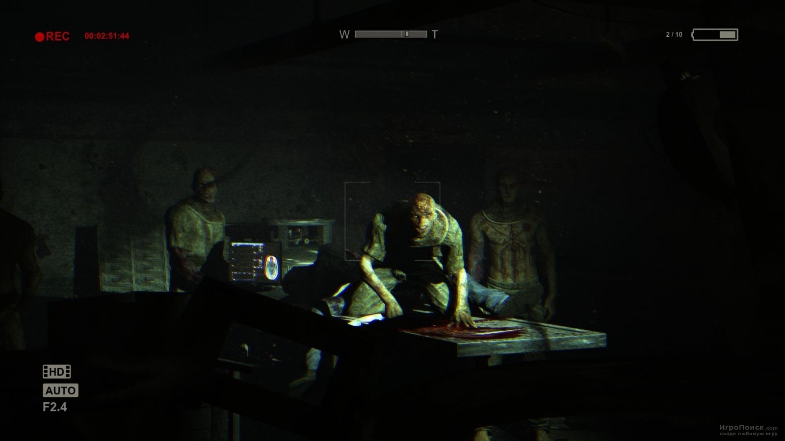 Скриншот к игре Outlast: Whistleblower