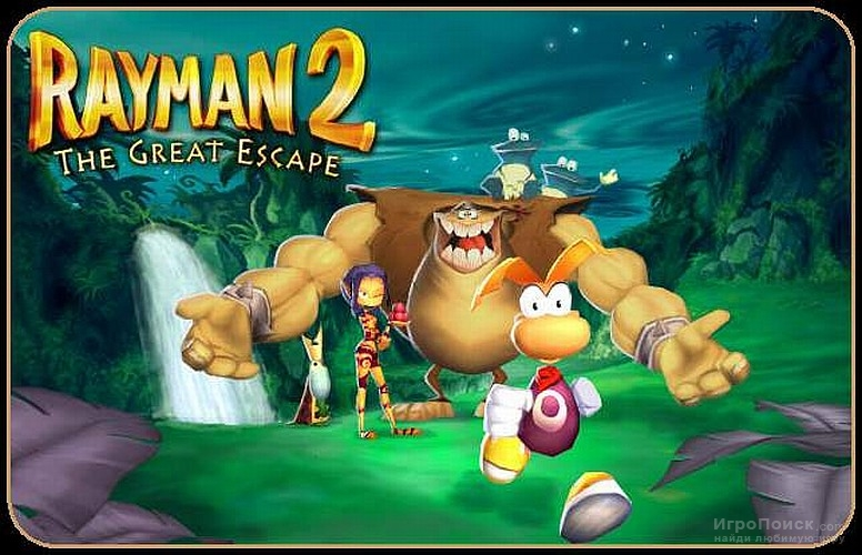 Скриншот к игре Rayman 2: The Great Escape