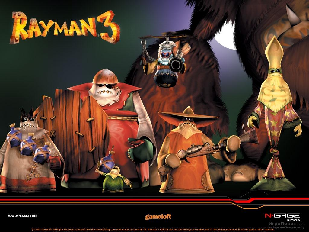 Скриншот к игре Rayman 3: Hoodlum Havoc