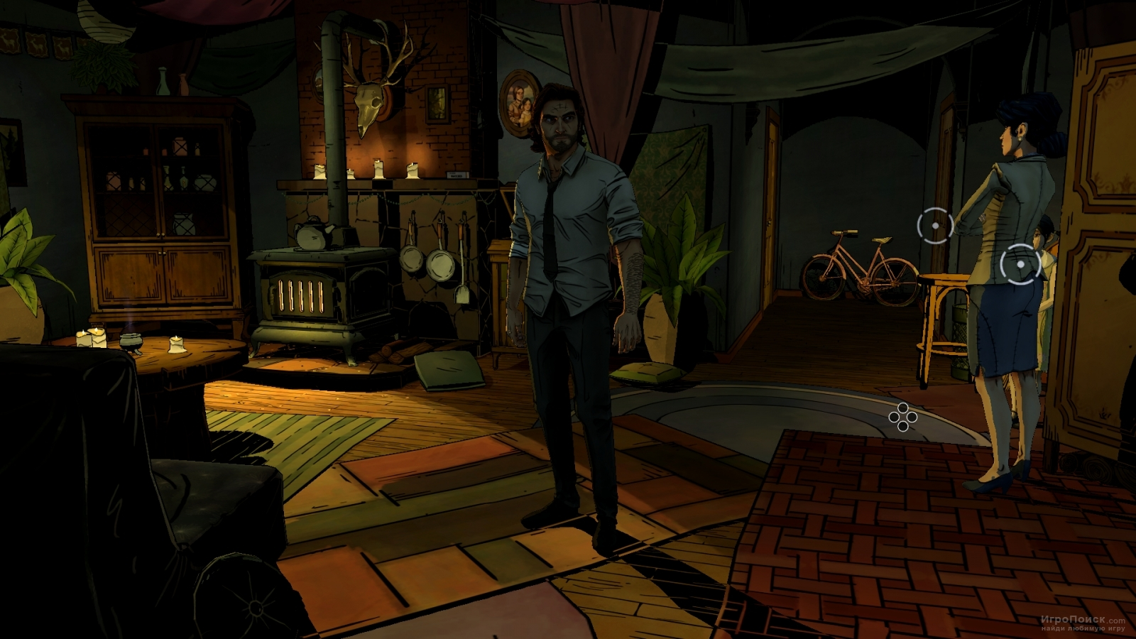 Скриншот к игре The Wolf Among Us - Episode 3: A Crooked Mile