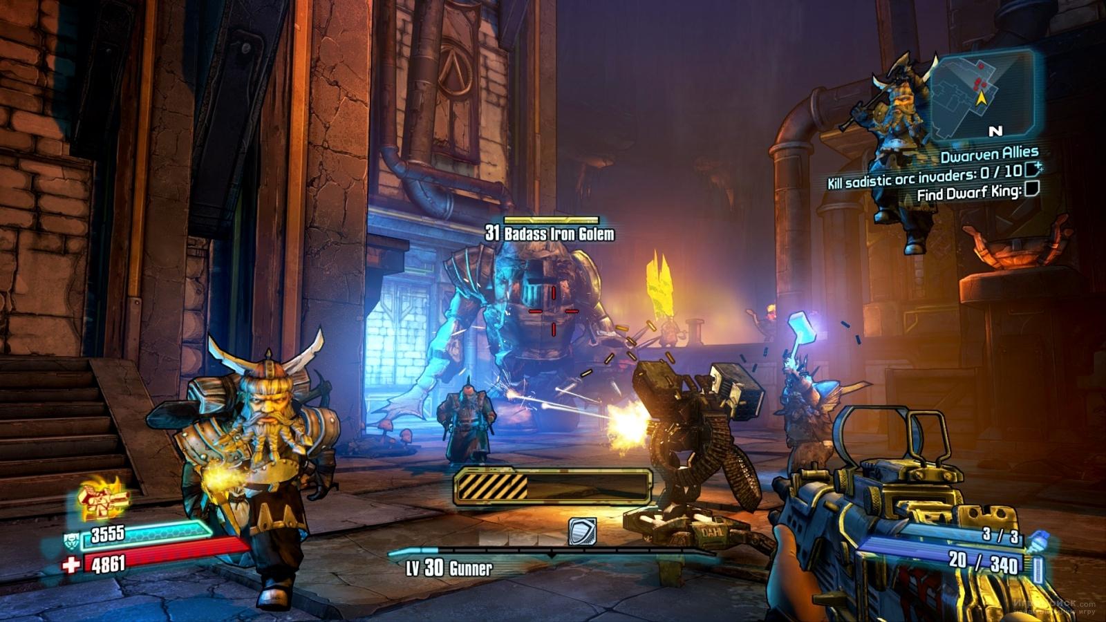 Скриншот к игре Borderlands 2: Tiny Tina's Assault on Dragon Keep