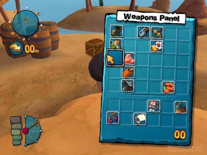 Скриншот к игре Worms 4: Mayhem
