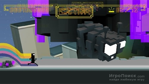 Скриншот к игре Bit.Trip Runner