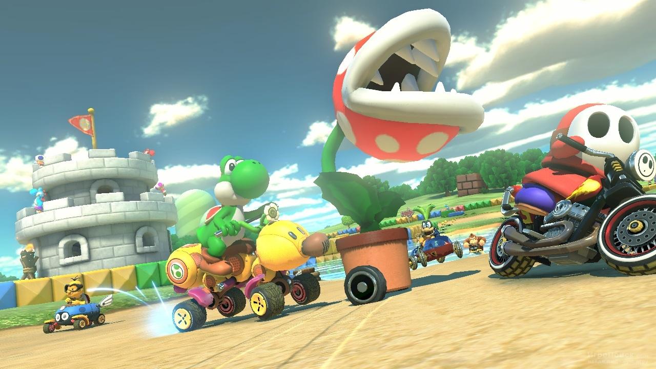 Скриншот к игре Mario Kart 8