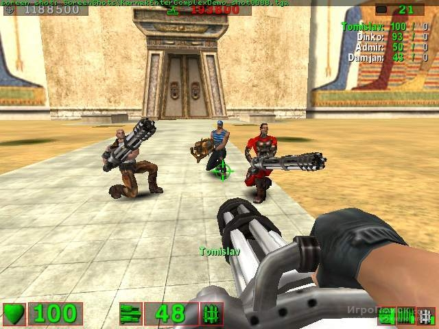 Скриншот к игре Serious Sam: The First Encounter