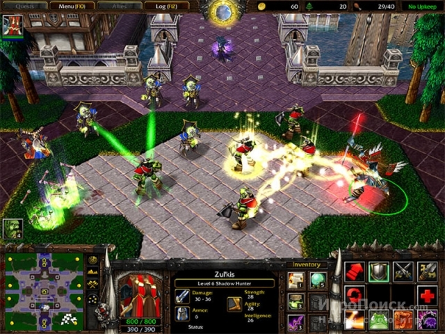 Скриншот к игре WarCraft III: The Frozen Throne