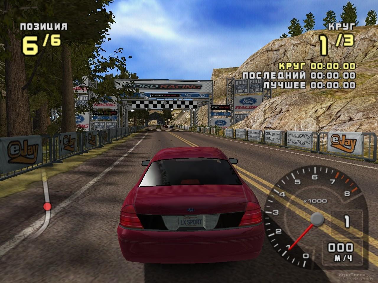 Скриншот к игре Ford Racing 2