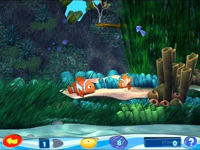 Скриншот к игре Finding Nemo
