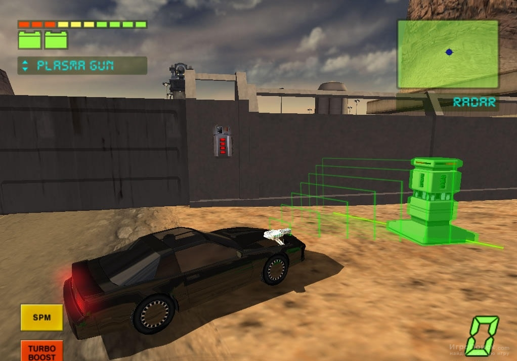 Скриншот к игре Knight Rider: The Game 2