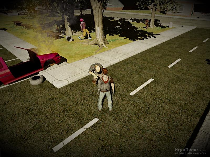 Скриншот к игре Fort Zombie