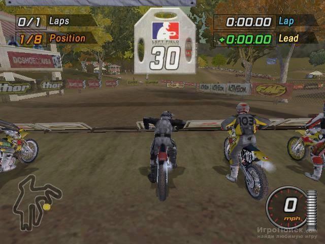 Скриншот к игре MTX Mototrax