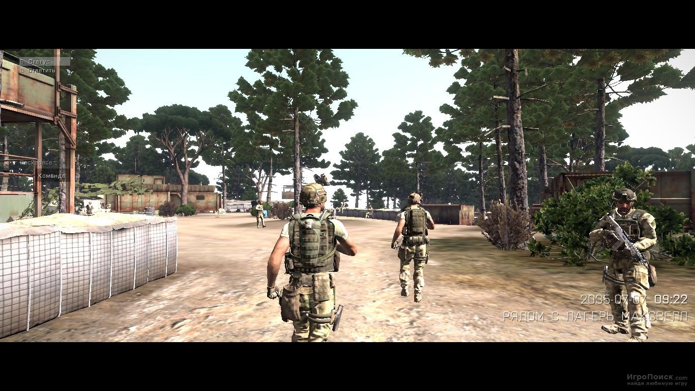 Скриншот к игре ArmA 3