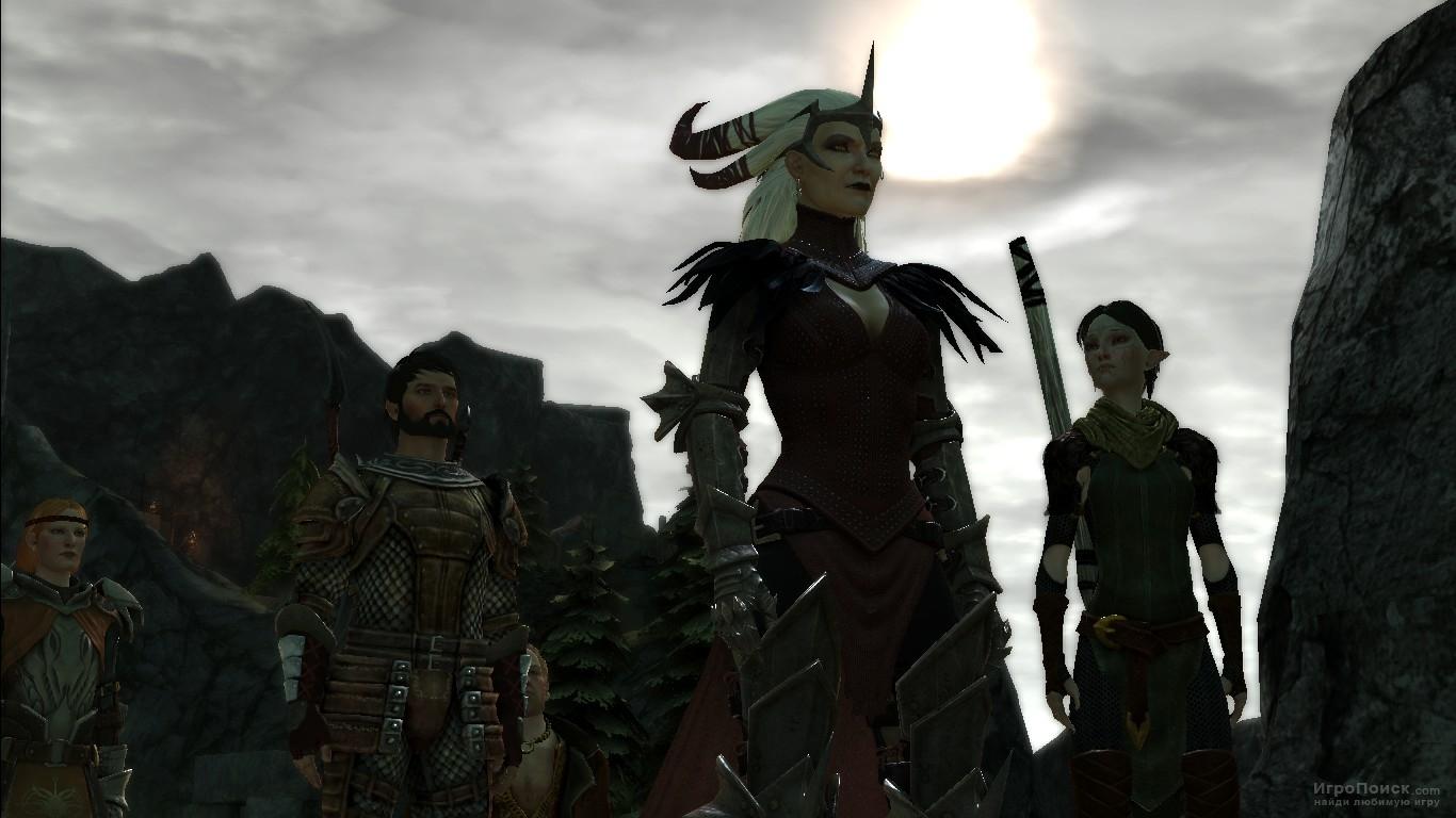 Скриншот к игре Dragon Age II