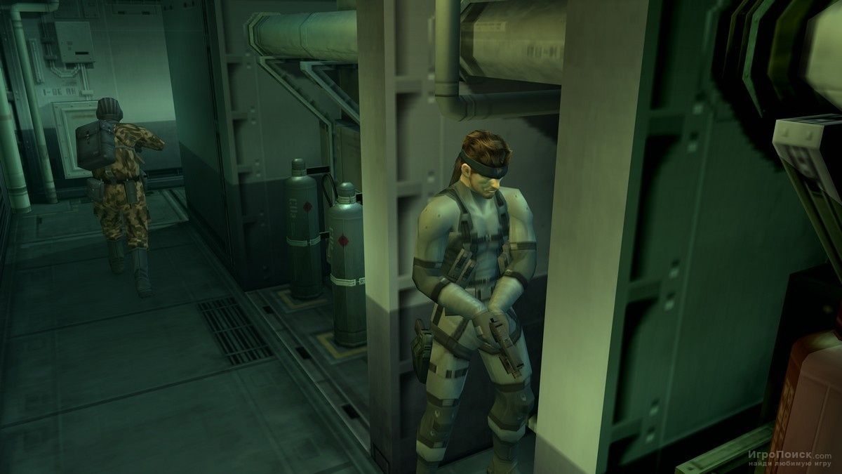 Скриншот к игре Metal Gear Solid 2: Sons of Liberty