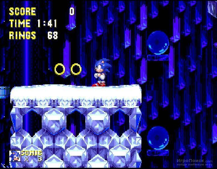 Скриншот к игре Sonic the Hedgehog 3