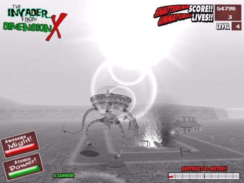 Скриншот к игре I Was an Atomic Mutant