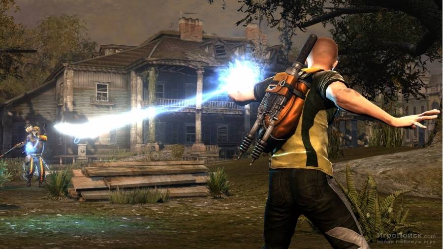 Скриншот к игре inFamous 2