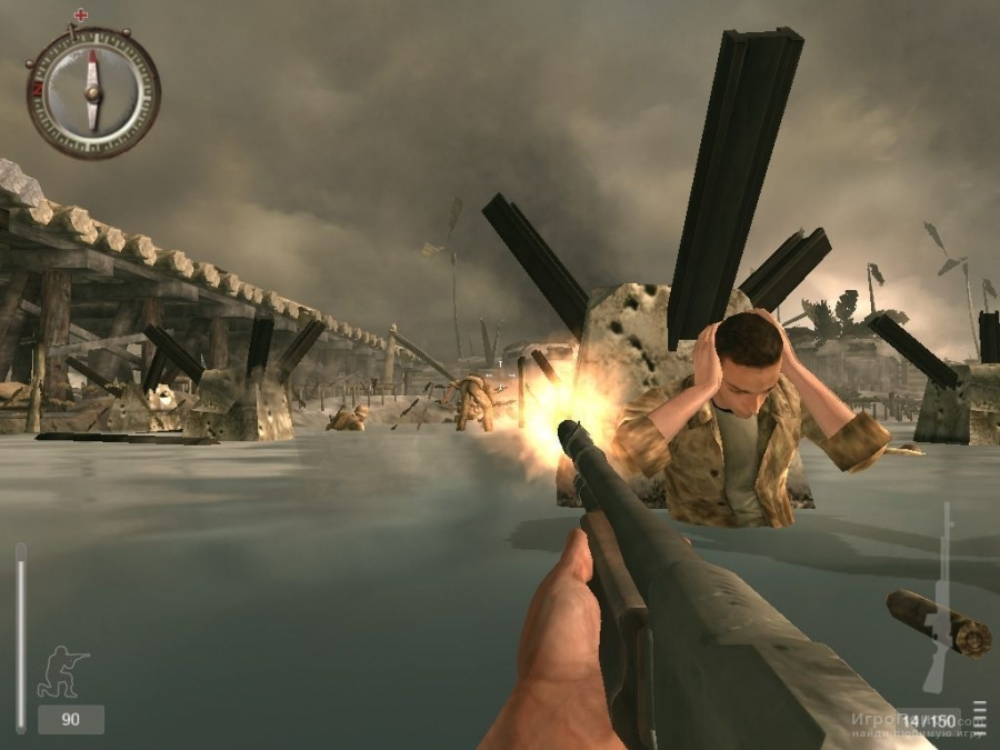 Скриншот к игре Medal of Honor: Pacific Assault