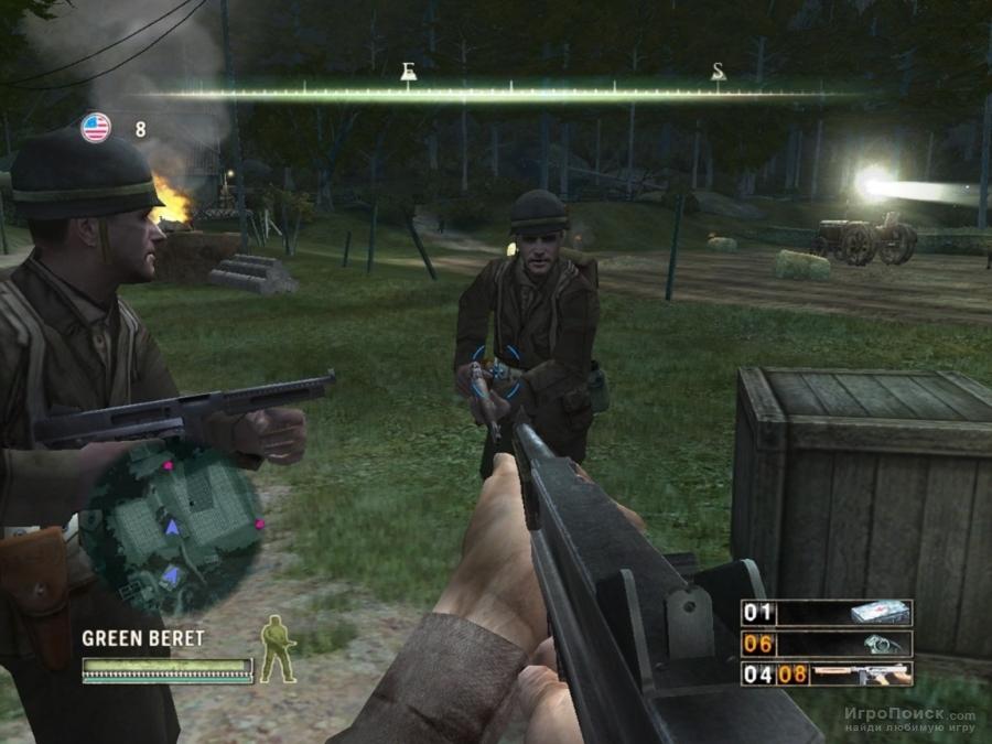 Скриншот к игре Commandos: Strike Force