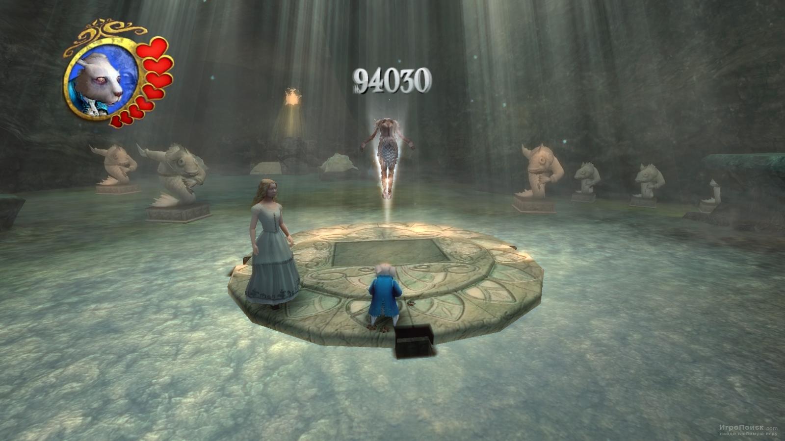 Скриншот к игре Disney Alice in Wonderland