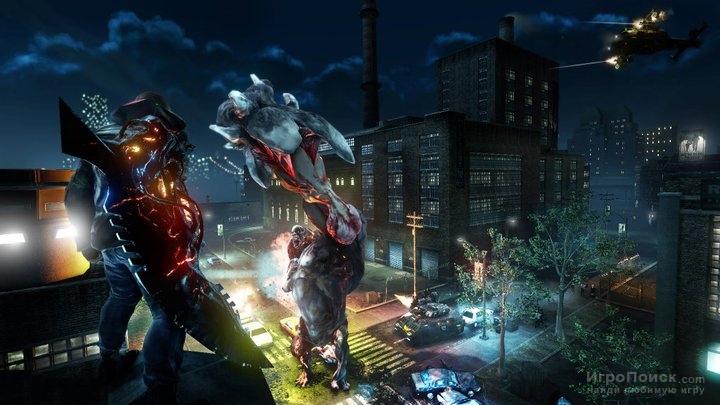 Скриншот к игре PROTOTYPE 2