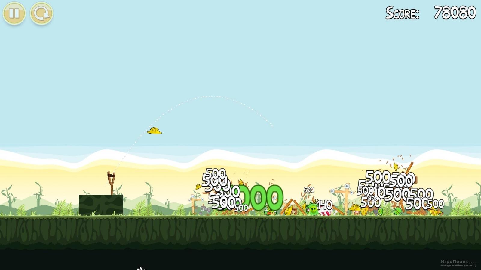 Скриншот к игре Angry Birds