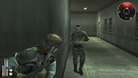 Скриншот к игре Metal Gear Solid: Portable Ops