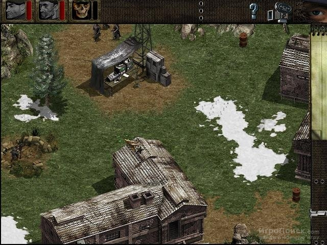 Скриншот к игре Commandos: Beyond the Call of Duty
